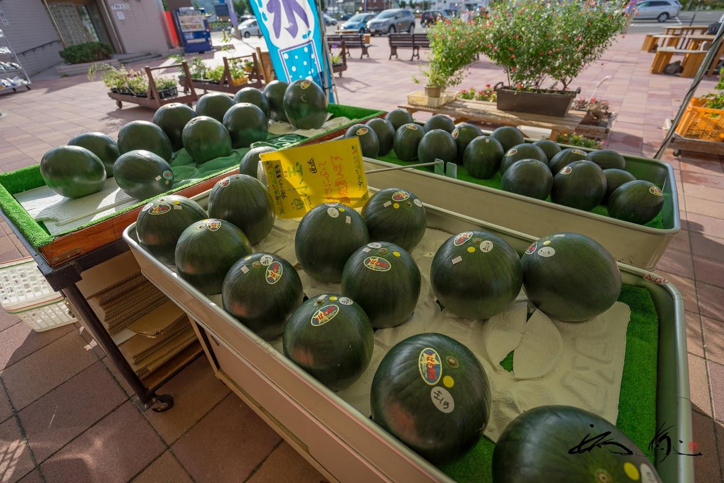 つばさ農園の「黒子玉西瓜」