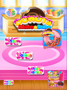 Donut Yum - Make & Bake Donuts Cooking Games FREE - náhled