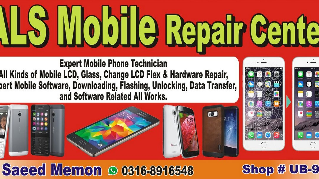 ALS Mobile Sell & Repair - Mobile Phone Repair Shop in Karachi