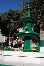 Photo: Pileta de la plaza Torata Moquegua (28 y 29-Julio-2012)