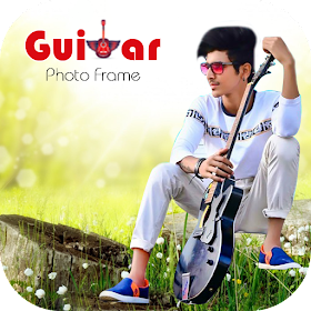 Guitar Photo Frame - New Version