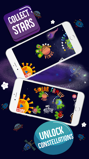 Solar Family - Planets of Solar System for Kids  screenshots 4