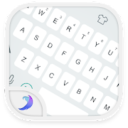 Emoji Keyboard-Gracy White 3.1 Icon
