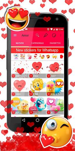 💕😍 WAStickerApps love stickers for whatsapp screenshot 5
