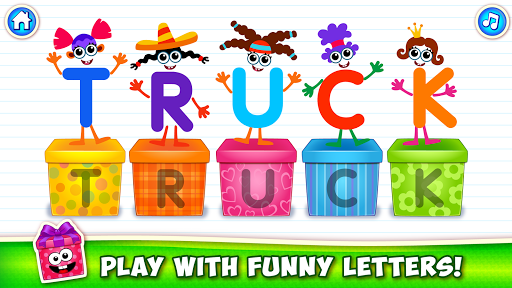 Baby ABC in box Kids alphabet games for toddlers android2mod screenshots 5