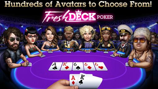 Télécharger Gratuit Poker - Fresh Deck Poker APK MOD (Astuce) screenshots 4