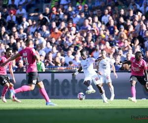 Pijnlijk: Ludovic Butelle (ex-Club Brugge) wordt door een zesdeklasser uit de Franse beker gewipt
