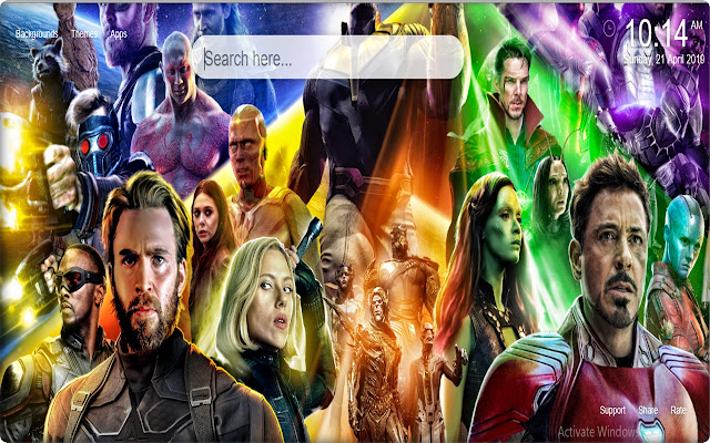 Avengers Infinity War HD Wallpapers Themes