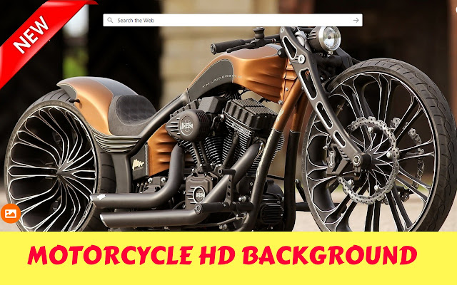 Motorcycle HD Wallpapers - New Tab
