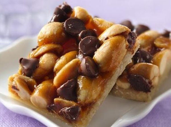 Chocolate-peanut-caramel Bars Recipe