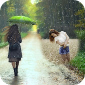 Rainy Photo Frame : Rain Photo Editor