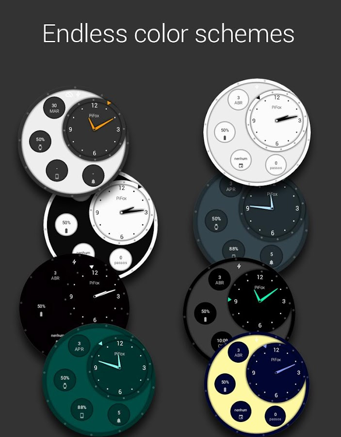Material Classic Watch Face- screenshot
