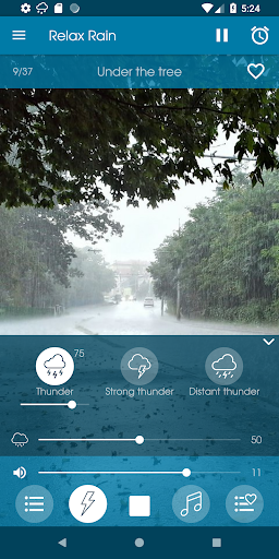 Relax Rain - Rain sounds: sleep and meditation screenshot