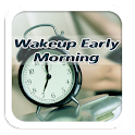 How To Wakeup Early Morning icon