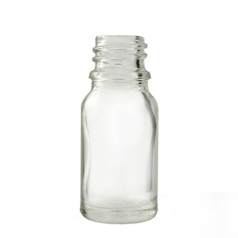 Glasflaska 10 ml - klar