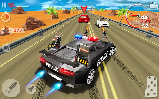 Police Highway Chase in City - Crime Racing Games 1.3.1 screenshots 1