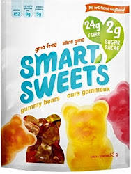 Smart Sweets Gummy Bears - with Stevia, Original, 53g