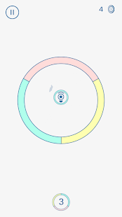 Hoop Switch - An addictive colour jump ball game - náhled