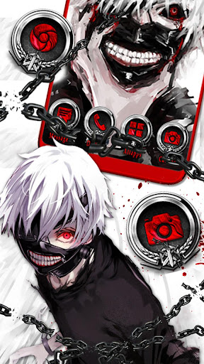 Anime, Ken, Kaneki Themes & Live Wallpapers ss1