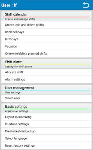Shift Planer screenshot 4