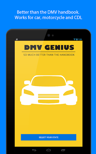 DMV Genie Permit Practice Test Screenshot
