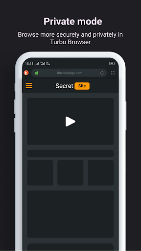 Turbo Browser - Super Fast and Secure Browser 2.4 screenshots 4
