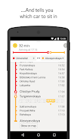 Screenshot of Yandex.Metro