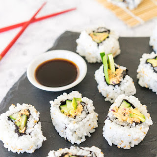 California Sushi Roll with Vegan Crab Meat Recipe