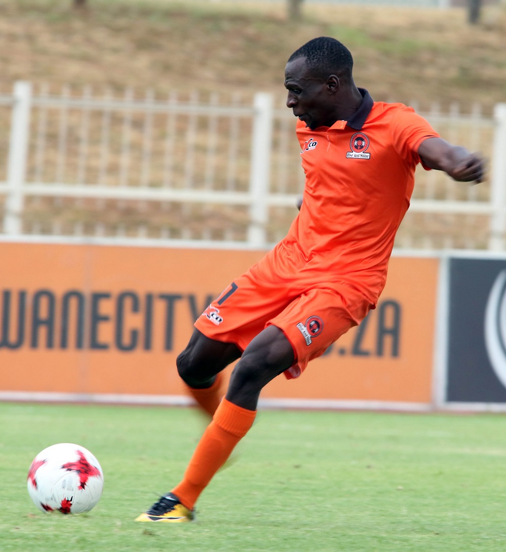 Polokwane City striker Rodney Ramagalela will be a handful for the Bucs defence, says Micho.