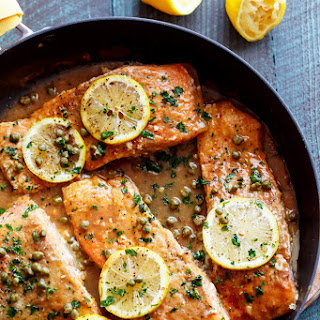 Salmon Piccata With Capers Recipes