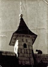 Photo: Budowa kościoła w Rogoźniku. Rok 1960.