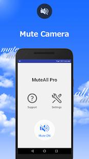 MuteAll Free(Trial) - Mute Camera, Video etc - Hileli APK indir 1 3