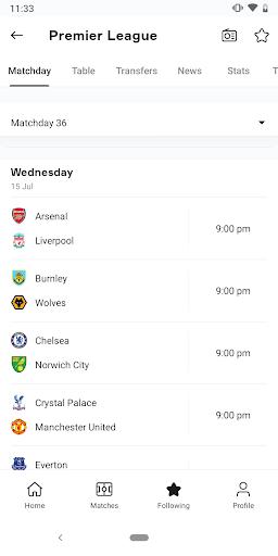 OneFootball - Soccer Scores screenshot 5