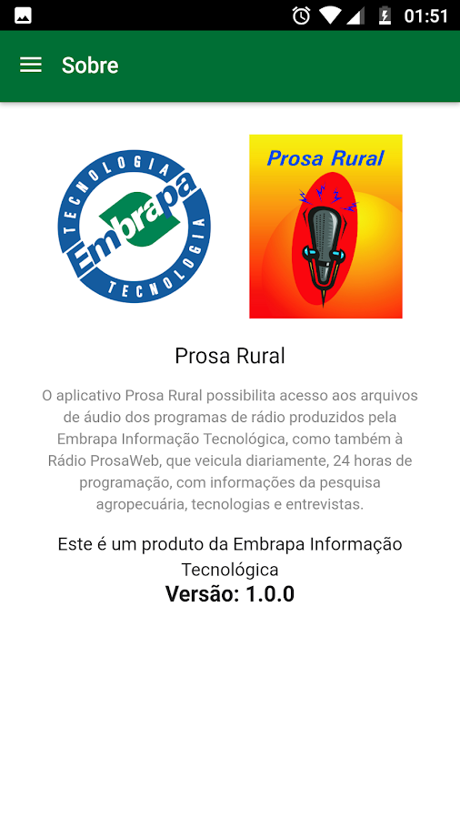 Prosa Rural- screenshot