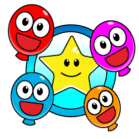 Pop Smiley Balloons