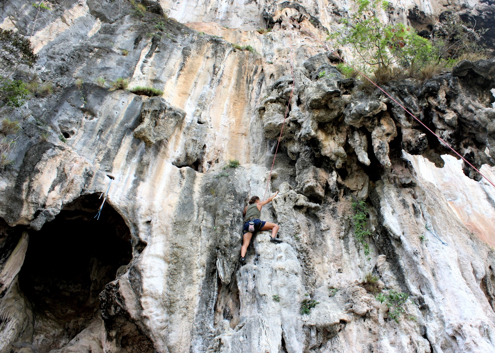 Rock Climbing Courses at Railay Beach by King Climbers