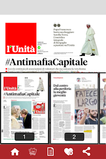 l'Unità edicola digitale- screenshot thumbnail