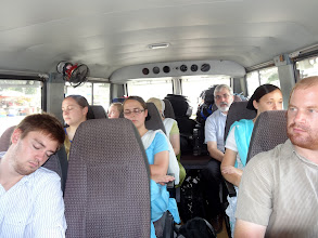Photo: After a full week of ministry there is much exhaustion as we traveled by bus from Ludhiana back to Chandigarh.