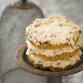 Raw Carrot Zucchini Cake