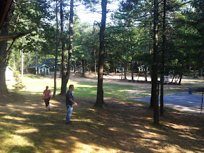 Photo: Another view of the Junior Cabins circle.