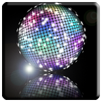 Disco Light LED Flashlight Icon