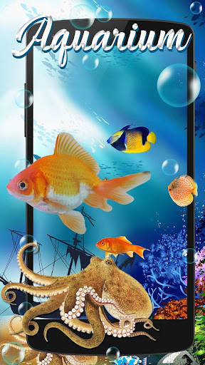 Aquarium Fish Live Wallpaper screenshot