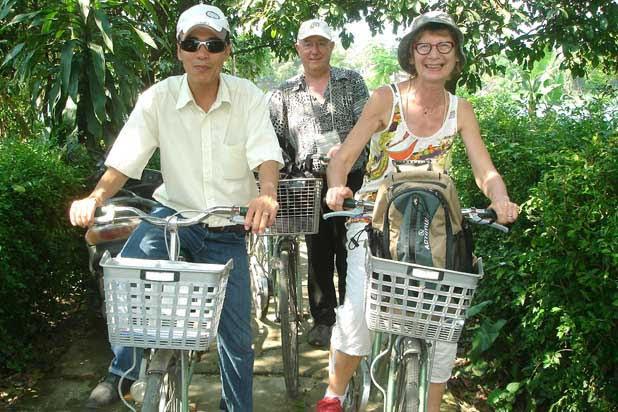 Circuit à vélo à Hué