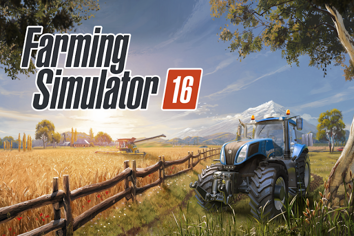 Farming Simulator 16 Android App Screenshot