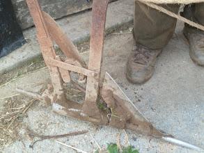 Photo: que arrastra este arado