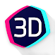 Live Wallpapers Parallax Hologram 4K HD - Androidアプリ