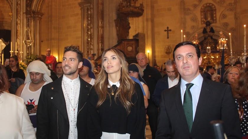 David Bisbal y Rosanna Zanetti, protagonistas del Miércoles Santo