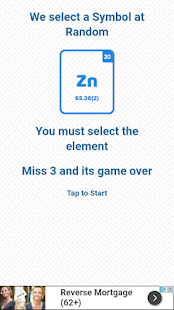 Periodic table element quiz apps on google play screenshot image urtaz Images