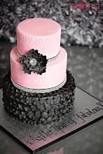 Photo: Pink & Black glam by Bakermama (9/11/2012) View cake details here: http://cakesdecor.com/cakes/28532