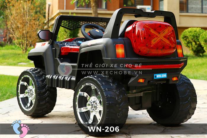 Xe hơi điện địa hình cho bé WN-206 4